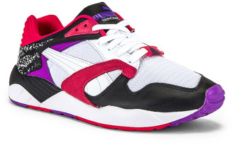 Puma Select Trinomic XS-850 in Puma White & Purple Glimmer | FWRD
