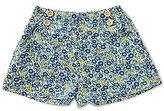 Copper Key Big Girls 7-16 Floral Print Flounce Shorts