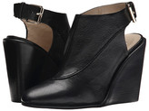 See by Chloe Grainy Leather Slingback On A Wedge