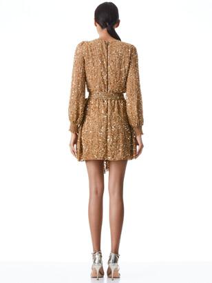 Alice + Olivia Kieran Sequin Mini Dress