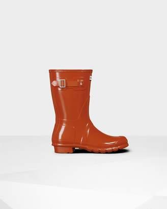 Hunter Women's Original Short Gloss Wellington Boots