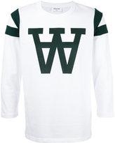 Wood Wood 'w' print sweatshirt - men - Cotton - S