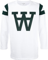 Wood Wood 'w' print sweatshirt - men - Cotton - XL