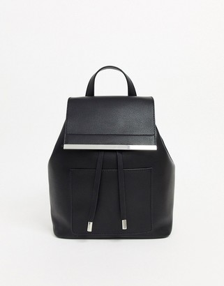 Asos Design DESIGN backpack with bar detail