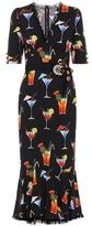 Dolce & Gabbana Embellished printed dress