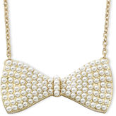 JCPenney Decree Bow Chain Necklace