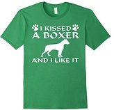 Men's I Kissed A Boxer And I Like It Shirt Large