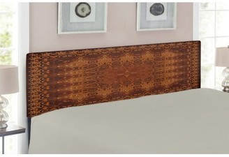 East Urban Home Antique Queen Upholstered Panel Headboard Size: Twin