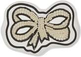 Gucci Ace pearl bow patch