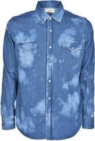 Saint Laurent Distressed Jean Shirt