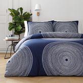 Marimekko Fokus Comforter Set in Navy