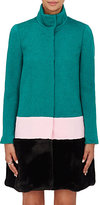 Lisa Perry WOMEN'S STAND-COLLAR COAT