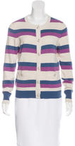 Chanel Striped Cashmere Cardigan