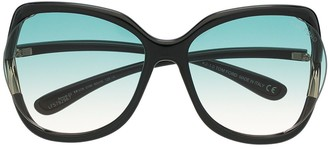 Tom Ford Gradient Oversized Sunglasses