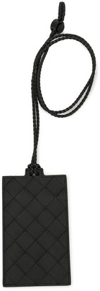 Bottega Veneta Intrecciato Weave Tag Holder