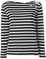 Saint Laurent star detail sweater