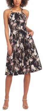 Rachel Roy Paulette Printed Dress