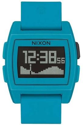 Nixon Men's Digital Quartz Watch with Silicone Strap A1104-2556-00