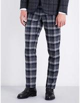 Etro Checked Cotton Trousers