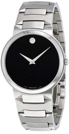 Movado Temo Black Dial Men's Watch 0605903