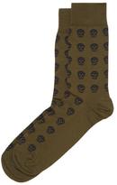 Alexander McQueen Cotton Skull Socks