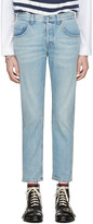 Gucci Blue loved Jeans