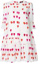 Alexander McQueen petal print dress