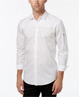 INC International Concepts Men's Textureblocked Long-Sleeve Shirt, Only at Macy's