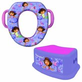 Ginsey Nickelodeon Soft Potty and Step Stool Combo Set, Dora the Explorer