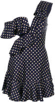 Zimmermann asymmetric polka dots dress