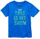 Under Armour Toddler Boy's This Is My Show Graphic Heatgear T-Shirt