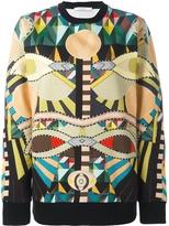 Givenchy Crazy Cleopatra Crewneck Sweater