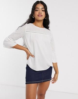 JDY Camill 3/4 sleeve blouse