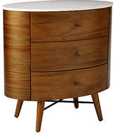 west elm Penelope 3 Drawer Bedside Table