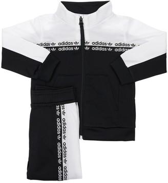 adidas Printed Track Jacket & Track Pants