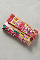 Santi Sequined Patchwork Clutch