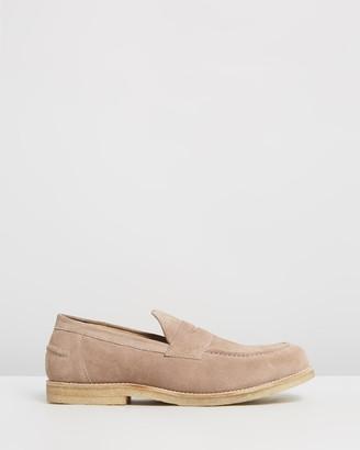 Double Oak Mills Felix Suede Loafers