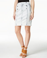 Nanette Lepore Nanette by Ahoy Sailor Cloud Wash Denim Skirt
