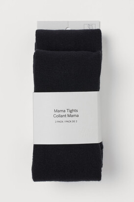 H&M MAMA 2-pack tights