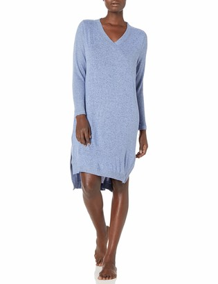 Karen Neuburger Women's Long Sleeve Nightshirt Nightgown Pajama Dress Pj