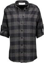 IRO Donella plaid cotton-flannel shirt