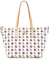Dooney & Bourke Louisville Zip Top Shopper