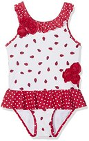 Mothercare Girl's Ladybird Corsage Swimsuit