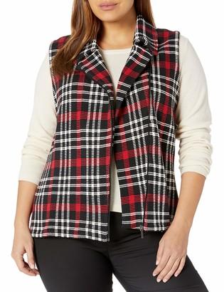 Chaps Women's Plus Size Sleeveless Cotton-Vest