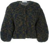 Societe Anonyme wide sleeve cardigan - women - Polyamide/Alpaca/Merino - One Size