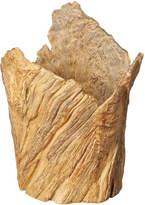 OKA Wendover Faux Wood Vase, Large