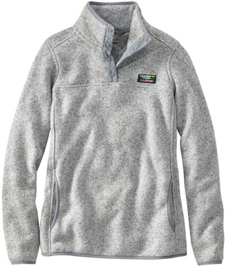 L.L. Bean Women's L.L.Bean Sweater Fleece Pullover
