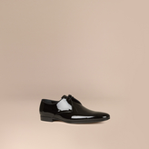 Burberry Polished Leather Lace-up Shoes