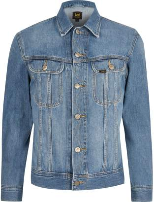 Lee Mens River Island Big and Tall Blue denim jacket