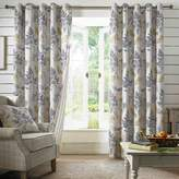 Kaleidoscope Sycamore Lined Eyelet Curtains